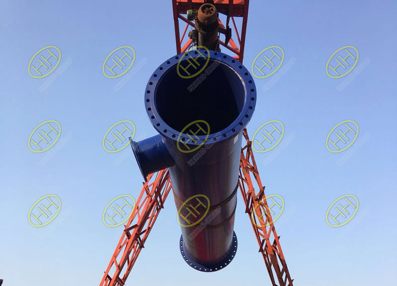 Saudi Arabia water works projects products is finished and shipped