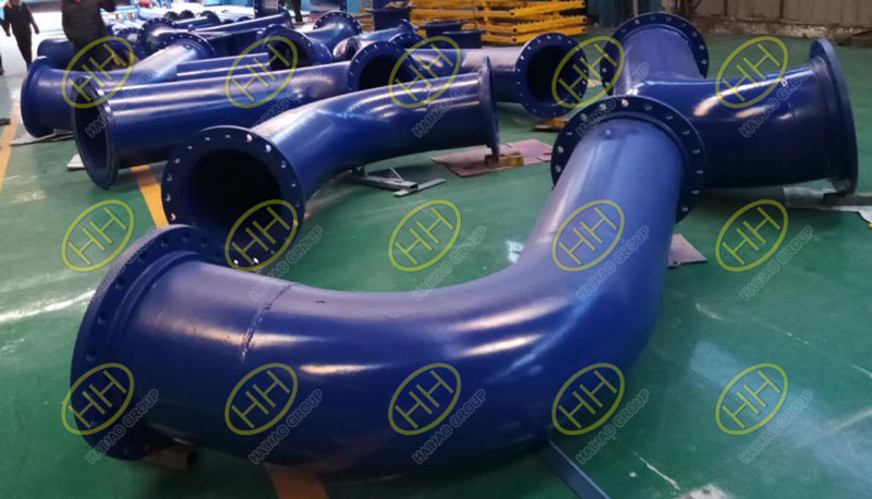 Pipe spools and pipe fabrication finished in Haihao Group