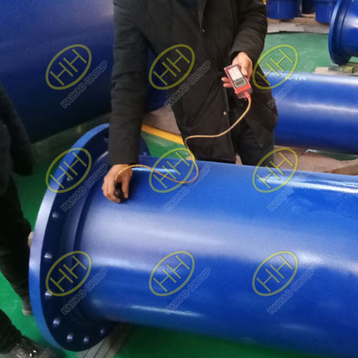 Pipe spools with FBE coating in Haihao Group