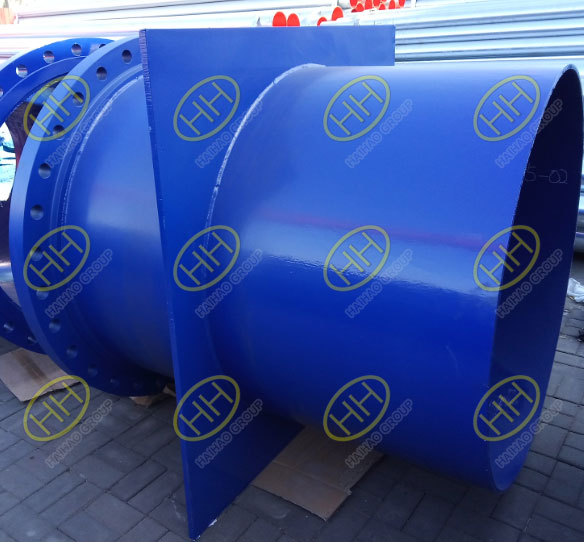 Pipe spools with FBE coating