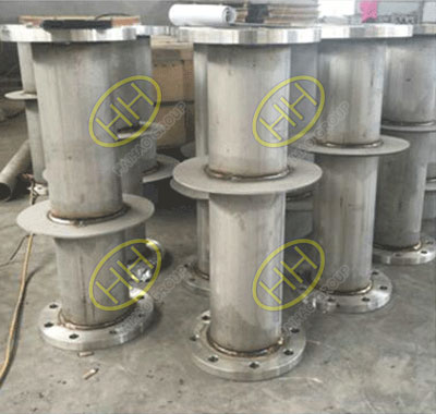 Puddle flange finished in Haihao Group
