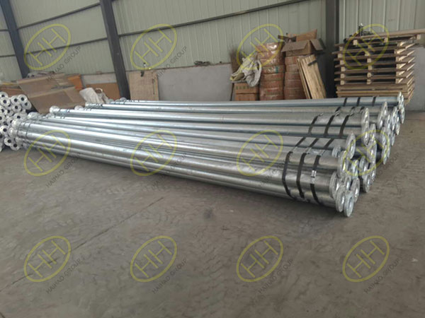 galvanzied pipe spools