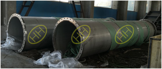 Haihao group fabricated stainless steel pipe spools and participate in construction of the Belt and Road